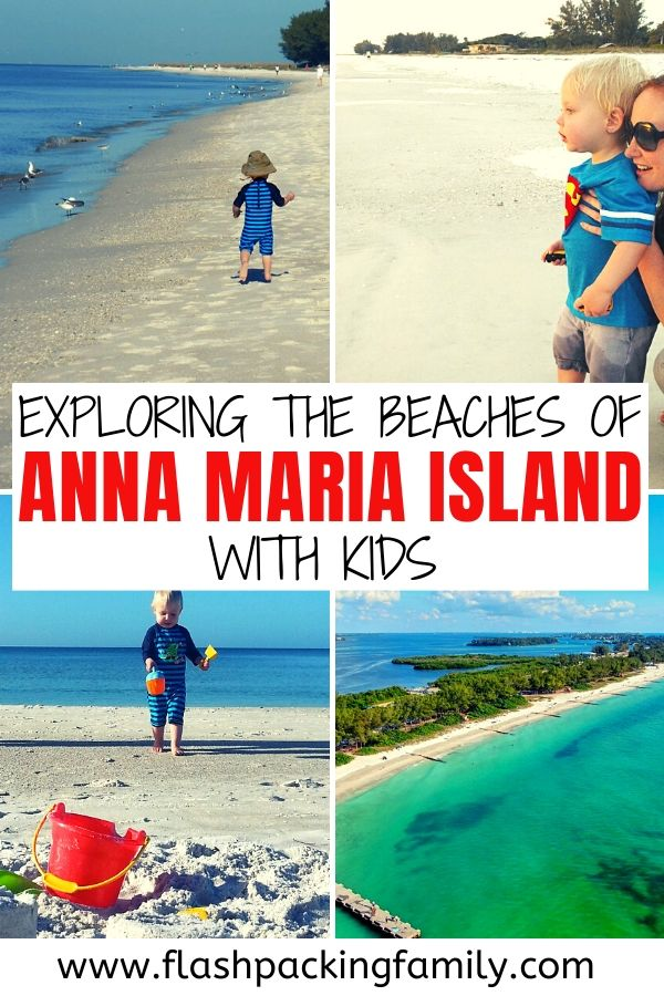 Exploring the beaches of Anna Maria Island with kids