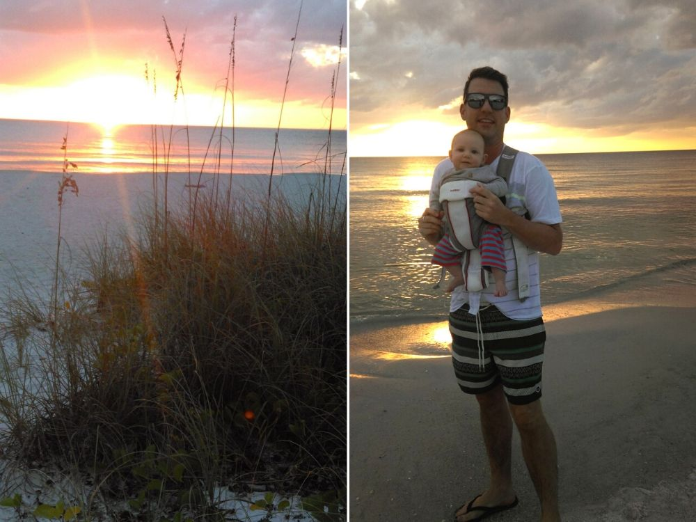 Sunset walks on Anna Maria Island_