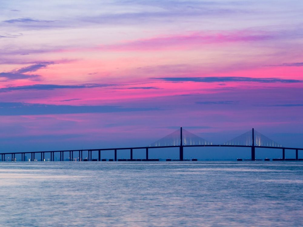 Sunshine Skyway Bridge Florida