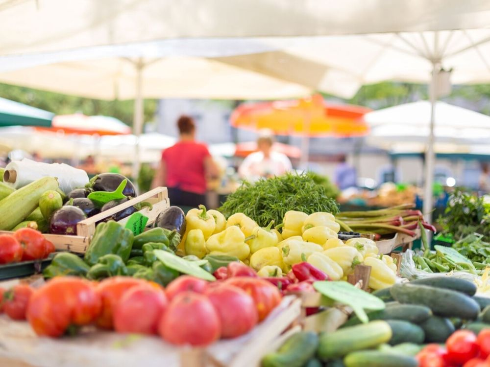 Farmer's Market in Whistler