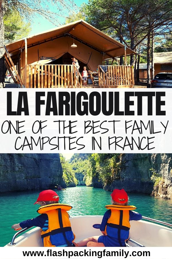 La Farigoulette One of the Best Family Campsites in France