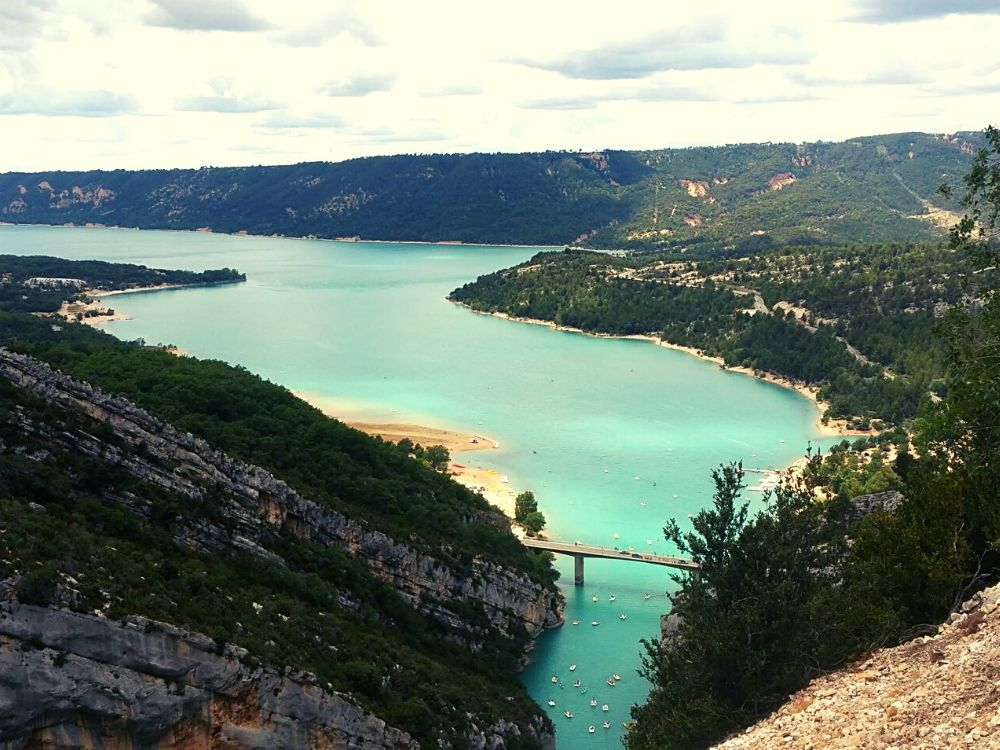 Lac du Saint Croix in the Gorges du Verdon