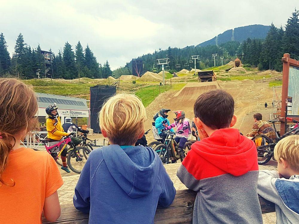 Mountain biking in Whistler