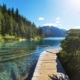The Stunning Garibaldi Lake near Whistler