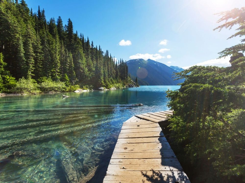 The Stunning Garibaldi Lake near Whistler