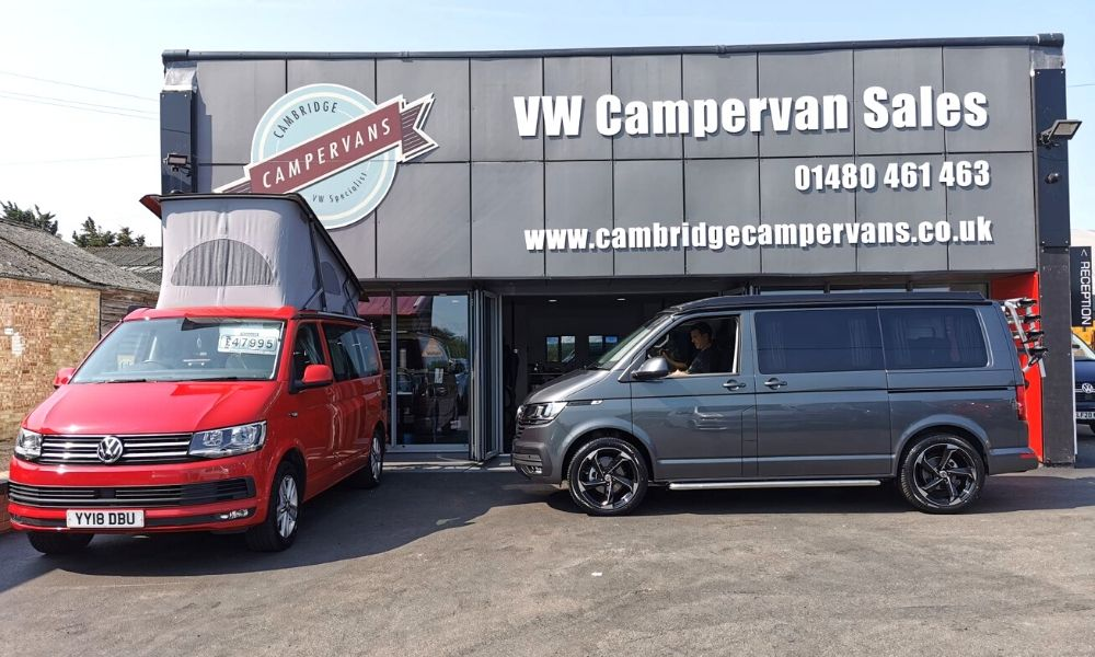 Cambridge Campervans - VW Campervan Sales