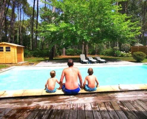 Family holiday at Villas La Clairière aux Chevreuils in Moliets