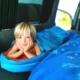 vw campervan sleeping