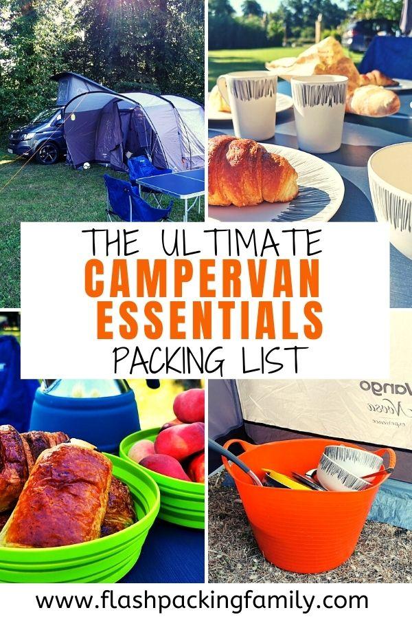 Campervan Essentials Packing List