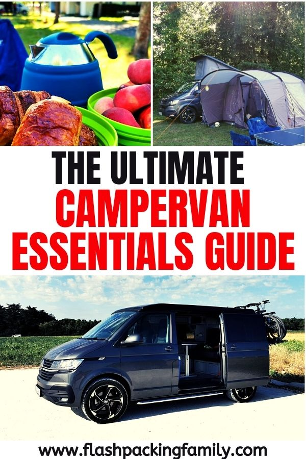 The ultimate campervan essentials guide