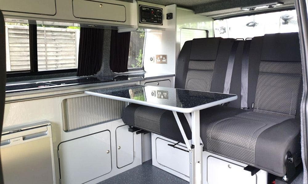 VW Campervan rib bed seats