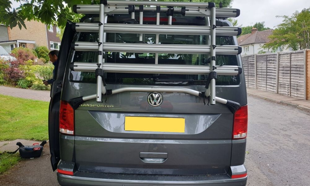VW bike rack for VW Campervan