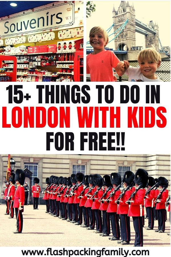 15 Things to do in London with Kids for free