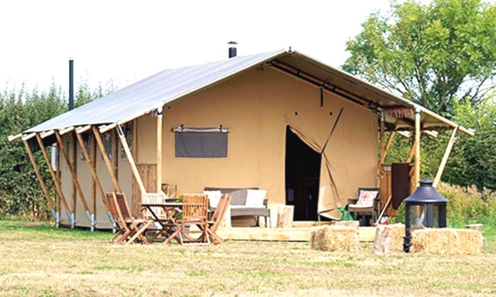Boundary Farm glamping tents