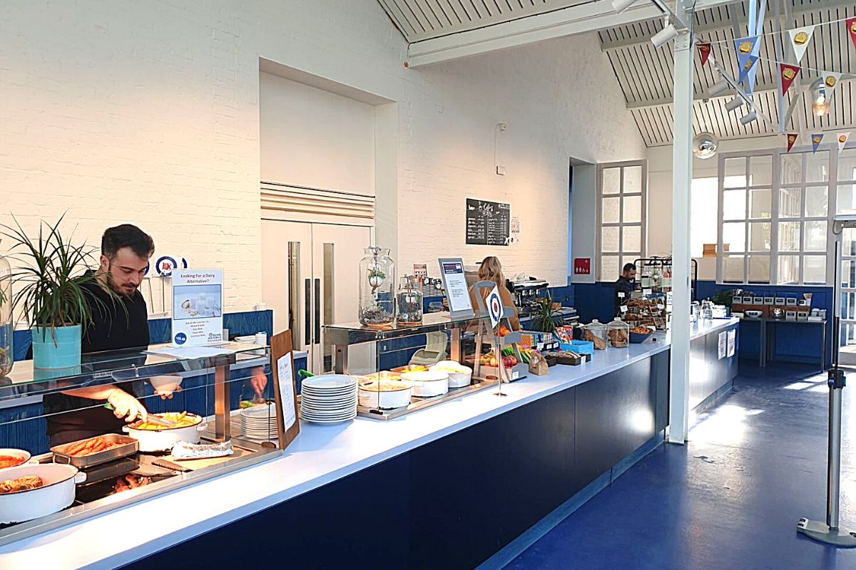 Café at the RAF Museum London