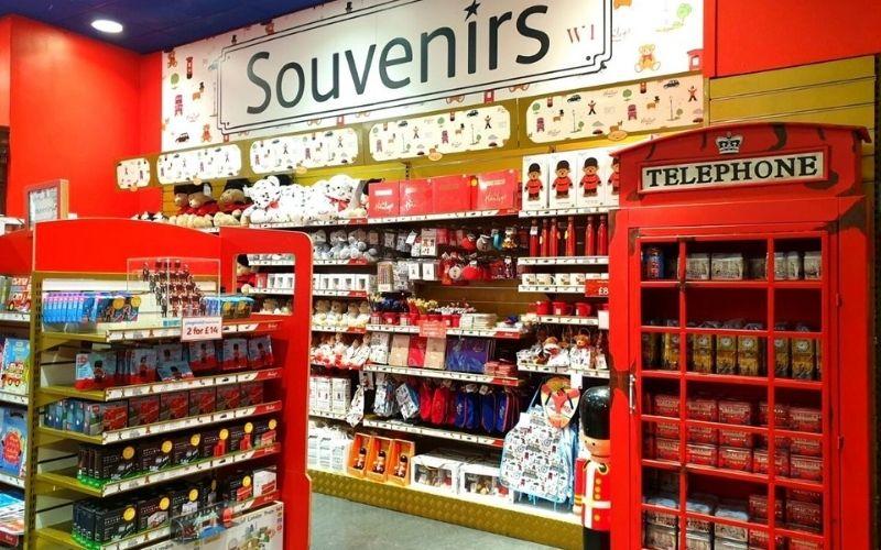 Check out the London souvenirs at Hamleys.