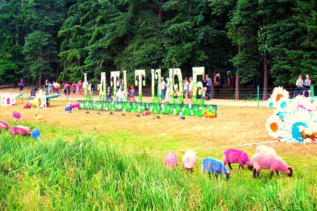 Latitude Festival in Suffolk