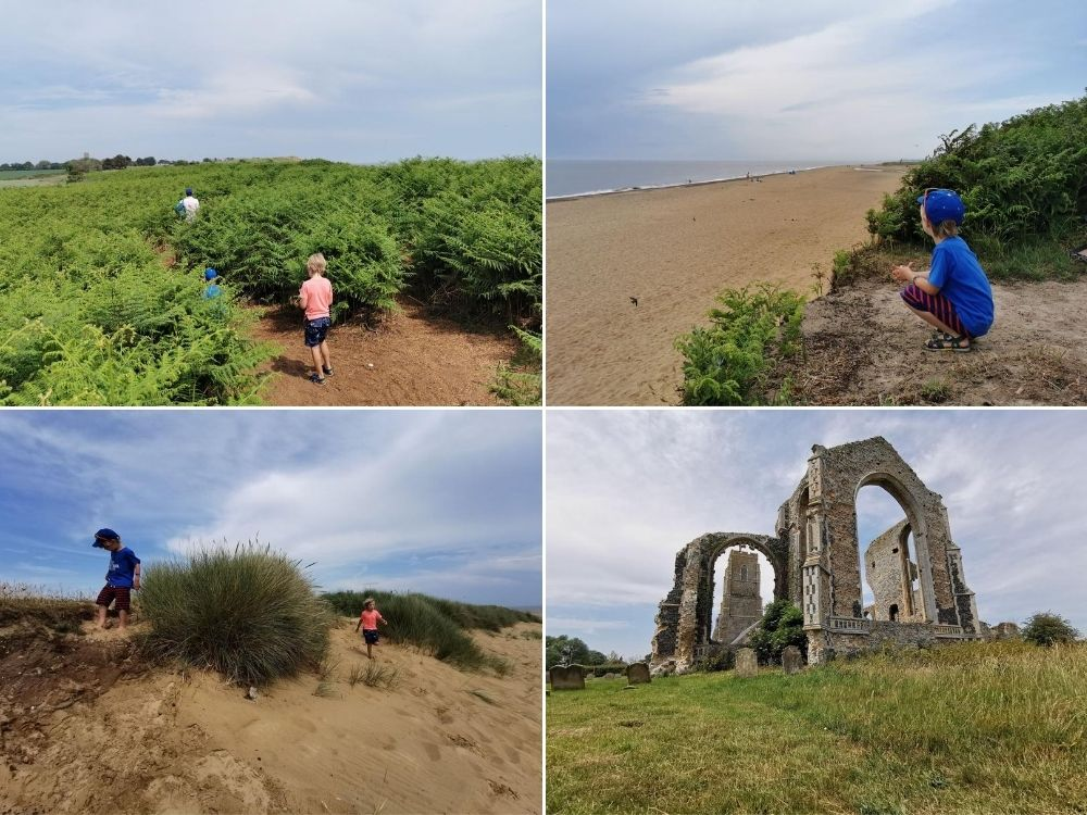 Sights of Covehithe