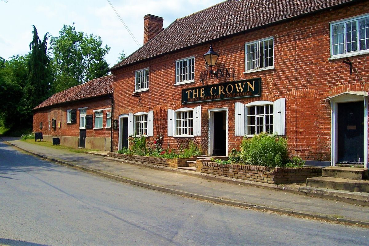 The Crown in Great Glemham Suffolk