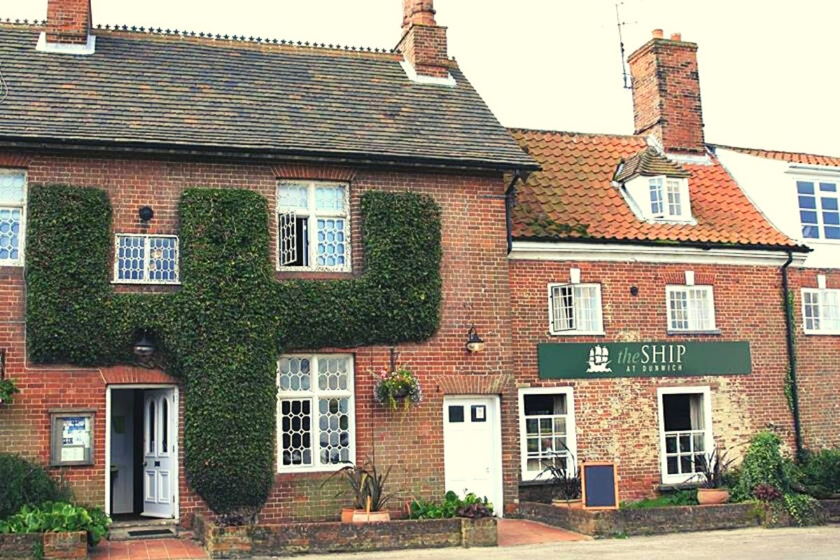The Ship Inn in Dunwich Suffolk