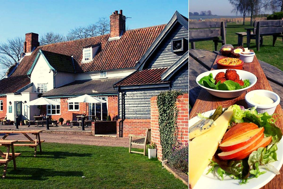 The White Hart in Blythburgh Suffolk