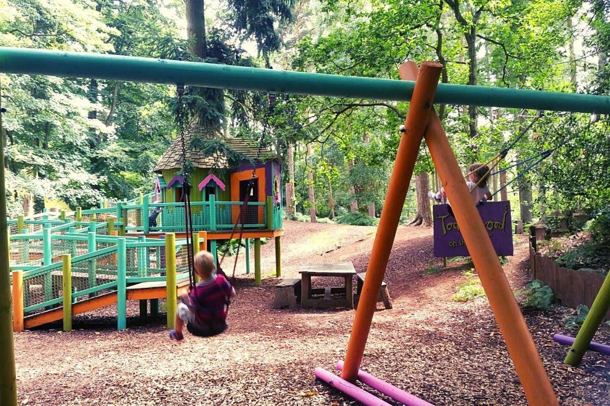 Toddlewood on the Hill play area for little ones