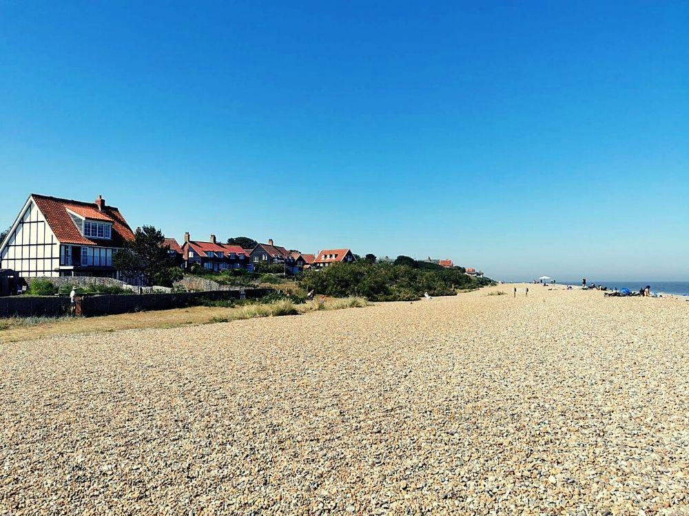 Views along Thorpeness beach