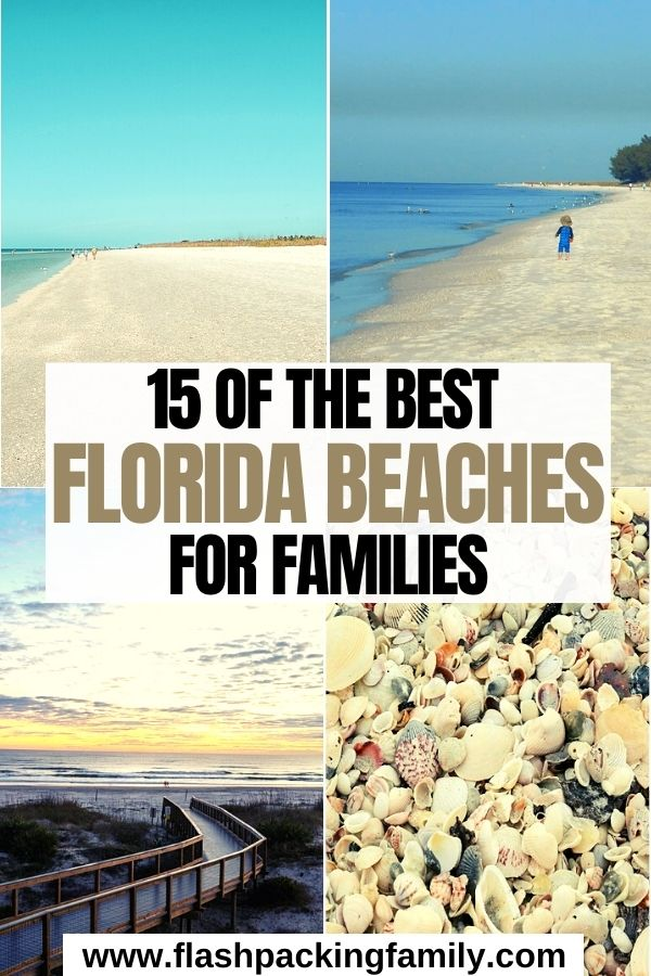 15 Best Florida Beaches for Families