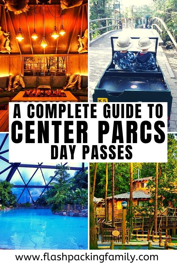 A complete guide to Center Parcs day passes