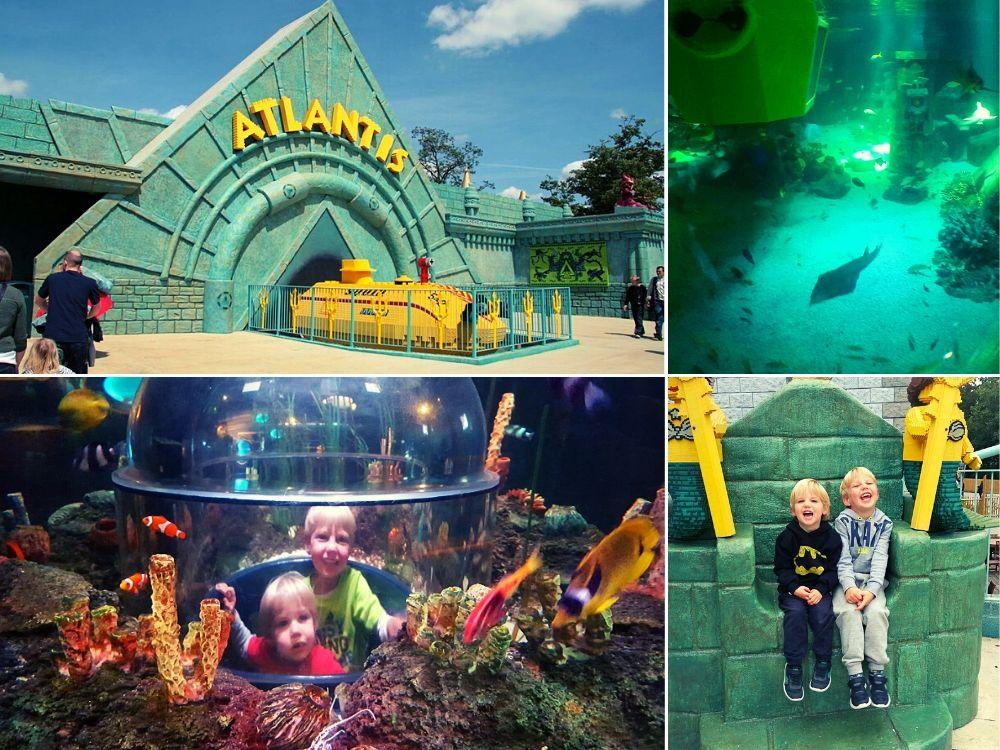 Atlantis submarine ride at Legoland Windsor