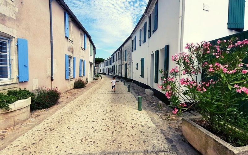 Beautiful little villages of Ile de Ré