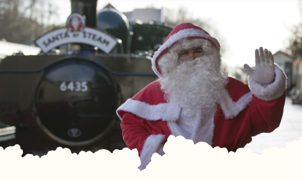 Bodmin and Wenford Railway Santa by Steam