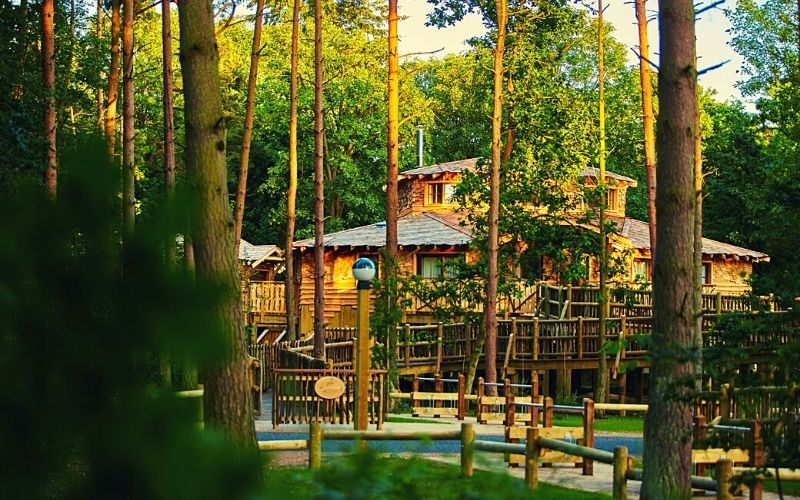 Center Parcs Elvedon treehouse
