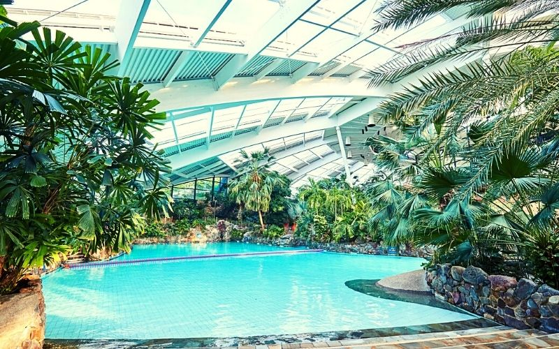 Center Parcs swimming pool at Longleat Forest