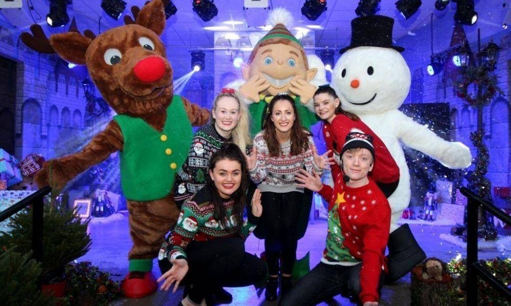 Christmas at Paultons Park