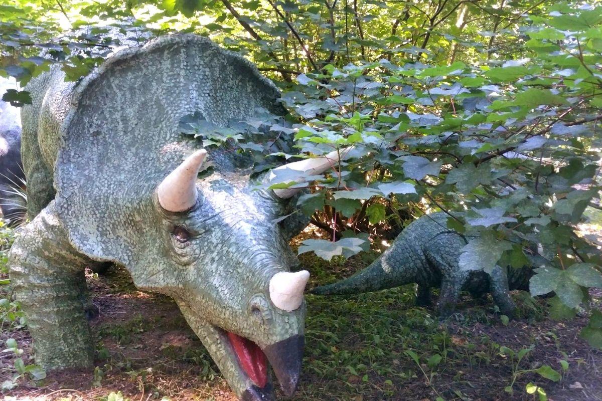 Dinosaur Park at Knebworth House