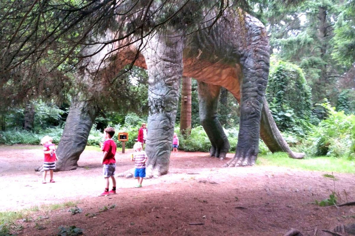Dinosaur Trail at Roarr Dinosaur Adventure