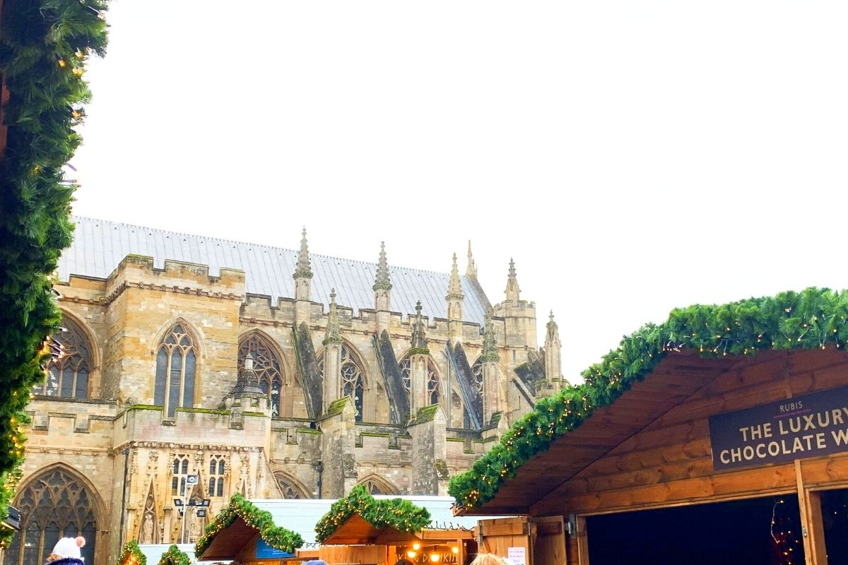 Exeter Christmas Market and Cathedral