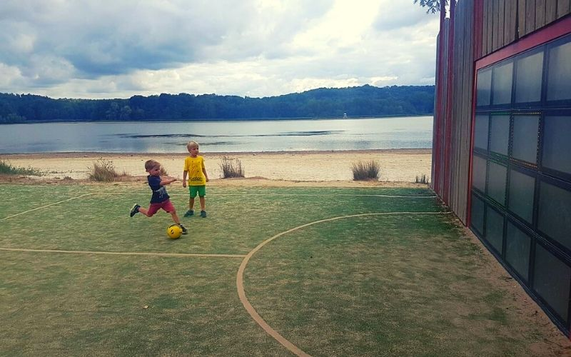 Free football facilities at Center Parcs