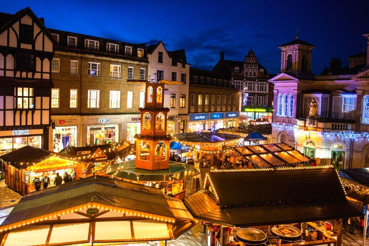Kingston Christmas Market - Image credit - www.inkingston.co.uk