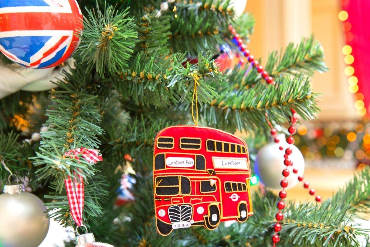 London Christmas tree decoration