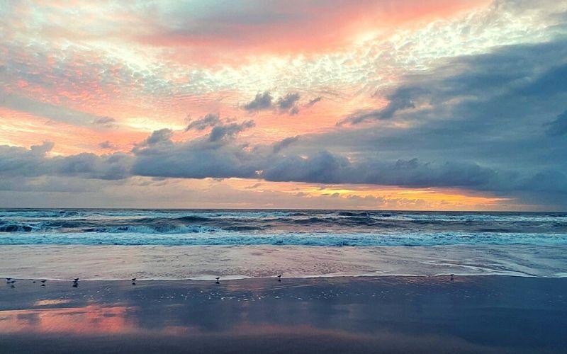 Melbourne Beach in Florida
