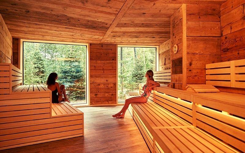 Nordic Sauna at Aqua Sana