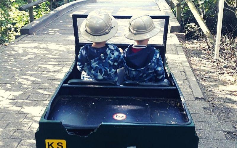 Off road explorers at Center Parcs