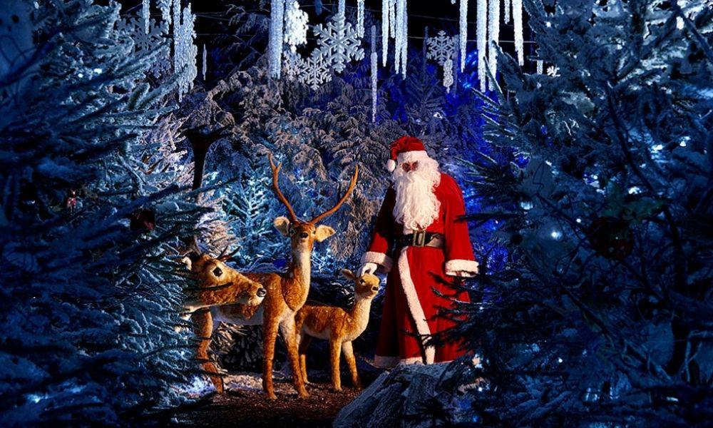 Santa at Hever Castle