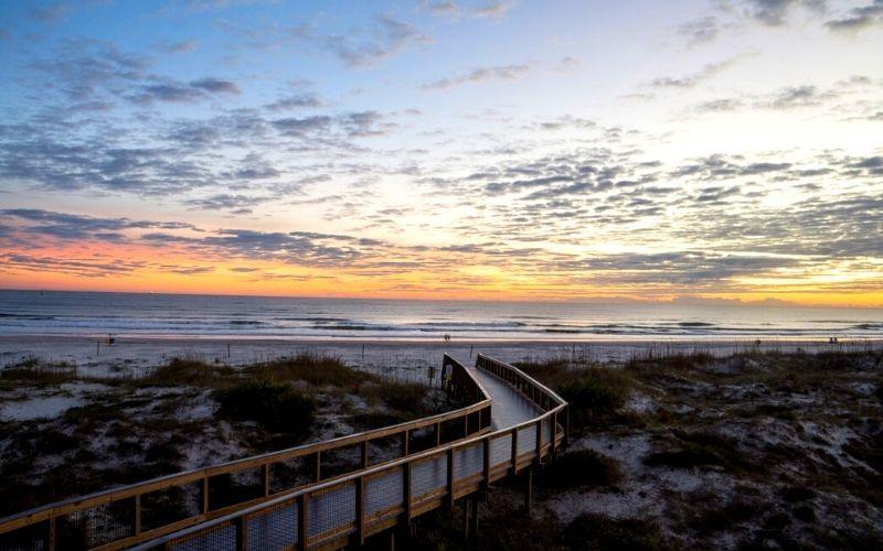 Sunrise at New Smyrna Beach