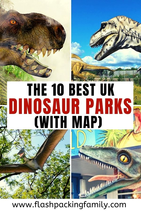 The 10 Best UK Dinosaur Parks with map