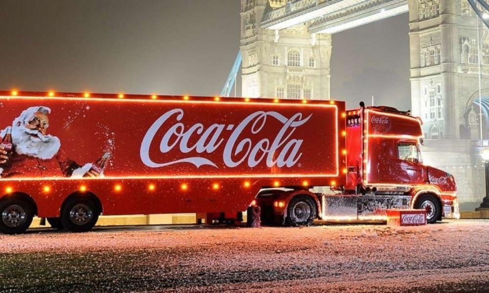 The Coca Cola Truck (Photo Credit www.thedrum.com)