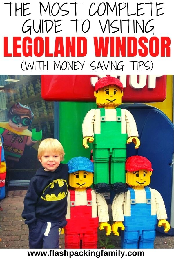 The Best guide to visiting Legoland Windsor with small kids
