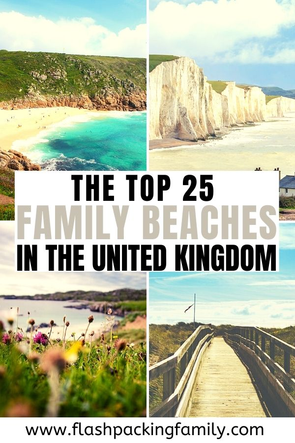 The top 25 family beaches in the United Kingdom